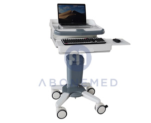 Medical Laptop Cart On Wheels