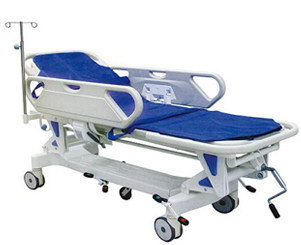 hospital emergency stretcher trolley