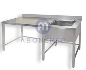 Single Bowl Sink Table
