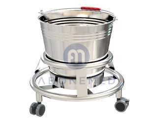Stainless Steel Medical Kick Bucket For Hospital